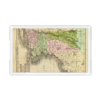 Eastern States Olney Map Acrylic Tray