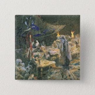 Eastern Tale, 1886 15 Cm Square Badge