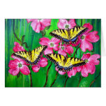 Eastern Tiger Swallowtail Butterflies Greeting Cards
