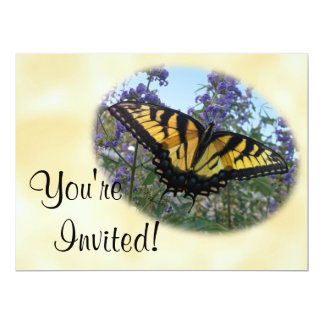 Eastern Tiger Swallowtail Butterfly 17 Cm X 22 Cm Invitation Card