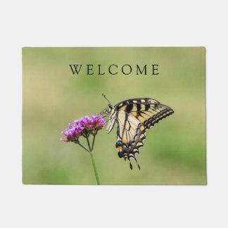 Eastern Tiger Swallowtail Butterfly Doormat