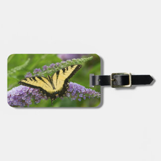 Eastern Tiger Swallowtail butterfly Luggage Tag