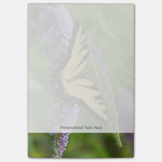 Eastern Tiger Swallowtail butterfly Post-it Notes