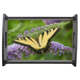 Eastern Tiger Swallowtail butterfly Serving Tray
