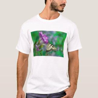 Eastern Tiger Swallowtail on Fresia - Sammamish T-Shirt