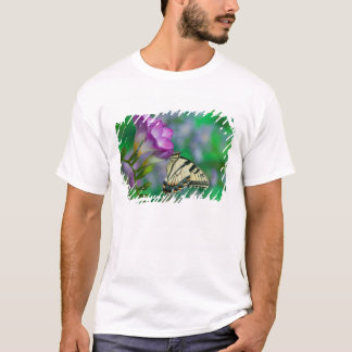 Eastern Tiger Swallowtail on Fresia - Sammamish T-Shirt