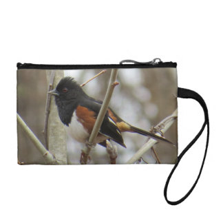 Eastern Towhee Coin Purse