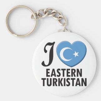 Eastern Turkistan Love Key Ring