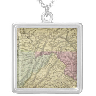 Eastern US Silver Plated Necklace