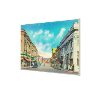 Eastern View from Center StreetPocatello, ID Canvas Print