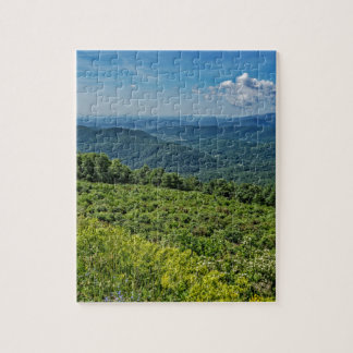 Eastern View from Shenandoah National Park Jigsaw Puzzle