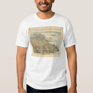 Eastern View of San Francisco, CA. (1529A) Shirt