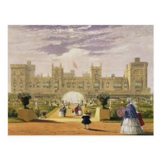 Eastern view of the Castle and Garden, Windsor Cas Postcard