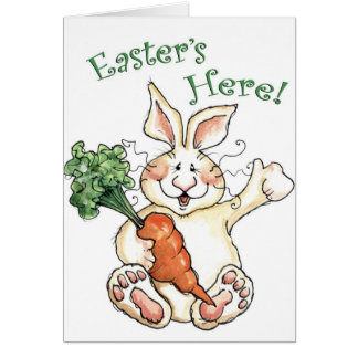 Easter's Here! - Greeting Card