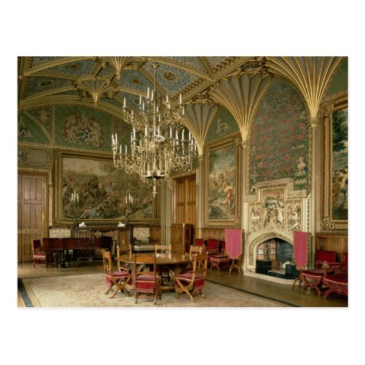 Eastnor Castle, Herefordshire: the drawing Postcards