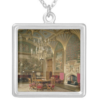 Eastnor Castle, Herefordshire: the drawing Silver Plated Necklace