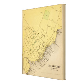 Eastport Village Canvas Print