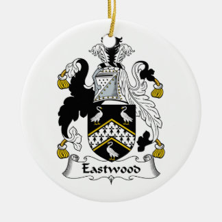 Eastwood Family Crest Christmas Ornament