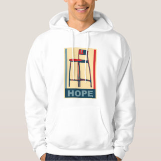 Eastwooding Invisible Obama Chair of Hope Hoodie