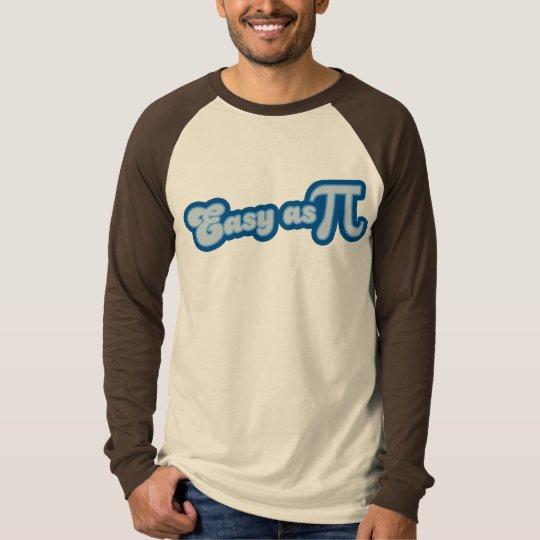 Easy as Pi (blue) T-Shirt