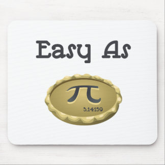 Easy As Pi Mouse Mat