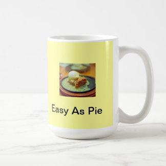 Easy As Pie coffee cup Basic White Mug
