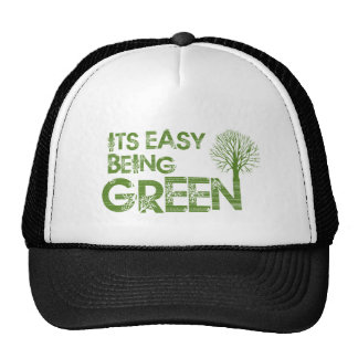 Easy being green hats