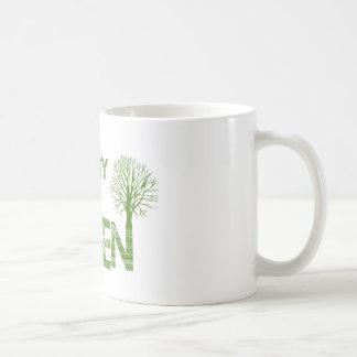 Easy being green mug