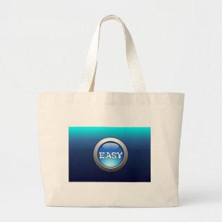 Easy Button Jumbo Tote Bag