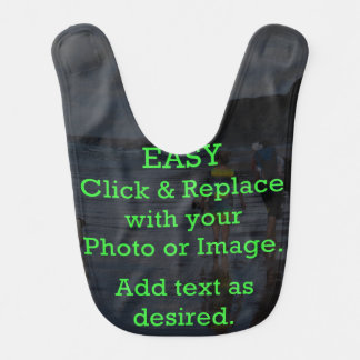 Easy Click & Replace Image to Create Your Own Bib
