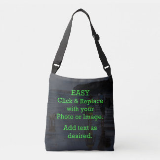 Easy Click & Replace Image to Create Your Own Crossbody Bag