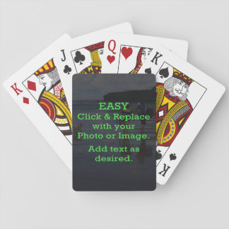 Easy Click & Replace Image to Create Your Own Poker Deck