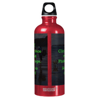 Easy Click & Replace Image to Create Your Own Water Bottle