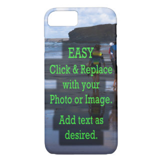 Easy Click & Replace Photo to Create Your Own iPhone 8/7 Case