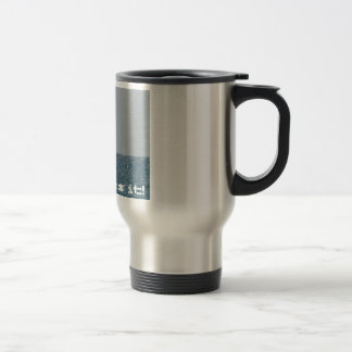 Easy does it! stainless steel travel mug
