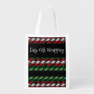 Easy Gift Wrapping Grocery Tote