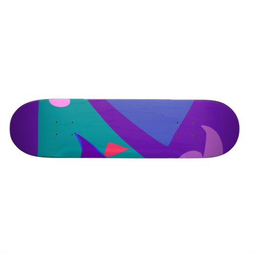 Easy Relax Space Organic Bliss Meditation100 Skate Deck