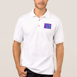 Easy Relax Space Organic Bliss Meditation100 Polo Shirt