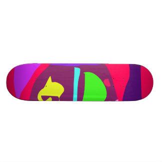 Easy Relax Space Organic Bliss Meditation10 18.1 Cm Old School Skateboard Deck