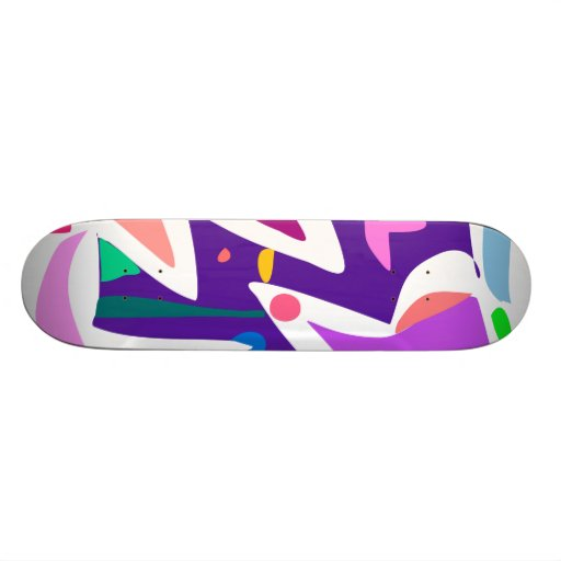 Easy Relax Space Organic Bliss Meditation14 Skate Board Deck