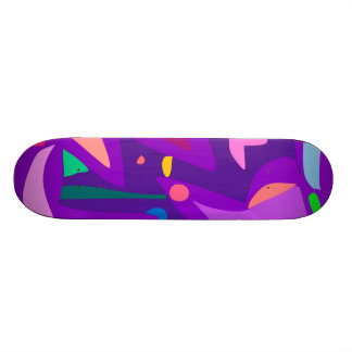 Easy Relax Space Organic Bliss Meditation15 Skate Deck