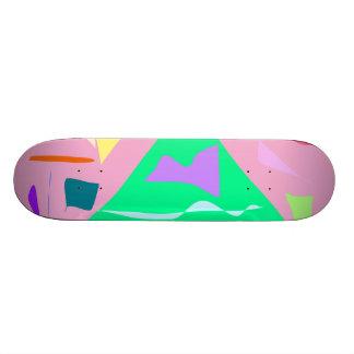 Easy Relax Space Organic Bliss Meditation20 18.1 Cm Old School Skateboard Deck