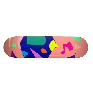 Easy Relax Space Organic Bliss Meditation25 20 Cm Skateboard Deck