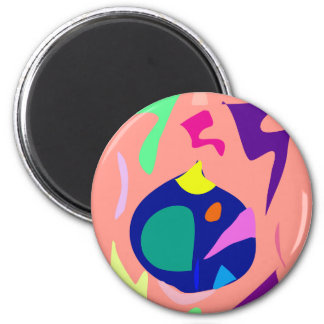 Easy Relax Space Organic Bliss Meditation25 Magnet