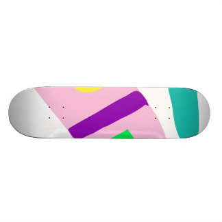Easy Relax Space Organic Bliss Meditation29 18.1 Cm Old School Skateboard Deck