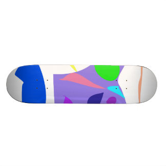 Easy Relax Space Organic Bliss Meditation35 21.6 Cm Old School Skateboard Deck