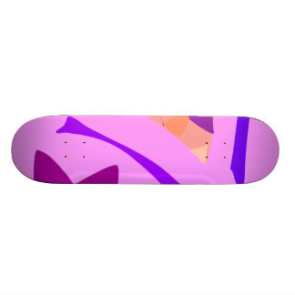 Easy Relax Space Organic Bliss Meditation45 Skateboard Deck