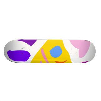Easy Relax Space Organic Bliss Meditation54 Skateboard Deck