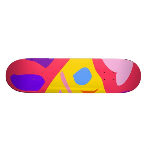Easy Relax Space Organic Bliss Meditation55 Skate Deck