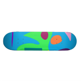 Easy Relax Space Organic Bliss Meditation5 21.6 Cm Old School Skateboard Deck